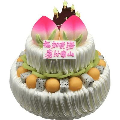 福如东海,甜蜜蛋糕,蛋糕,蛋糕,,河北天冠鲜花连锁